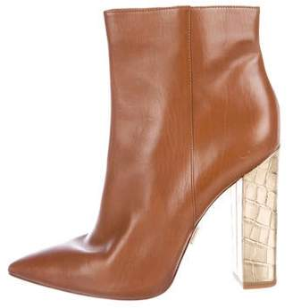 Michael Kors Leather High Heel Boots