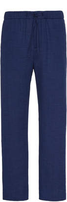 Frescobol Carioca Slim-Fit Linen Trousers