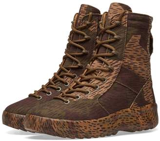 Yeezy Season 6 Camo Military Boot