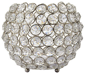 John Lewis & Partners Crystal Bead Candle Bowl