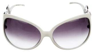 Dolce & Gabbana Embellished Butterfly Sunglasses