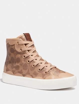 Coach C255 High Top Sneaker