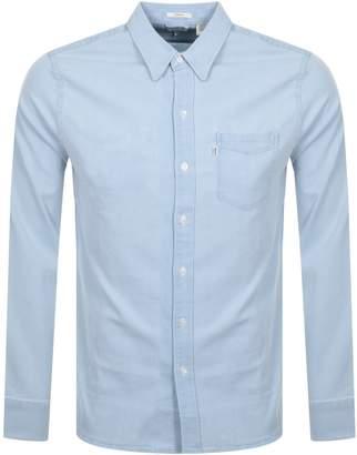 Levi's Levis One Pocket Shirt Blue