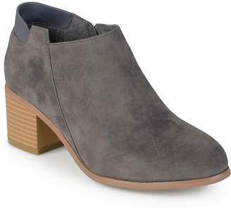 Journee Collection Miley Chunky Heeled Ankle Booties