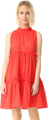 Lisa Marie Fernandez Ruffle Tier Dress $685 thestylecure.com
