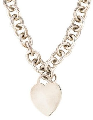 Tiffany & Co. Heart Tag Necklace $215 thestylecure.com