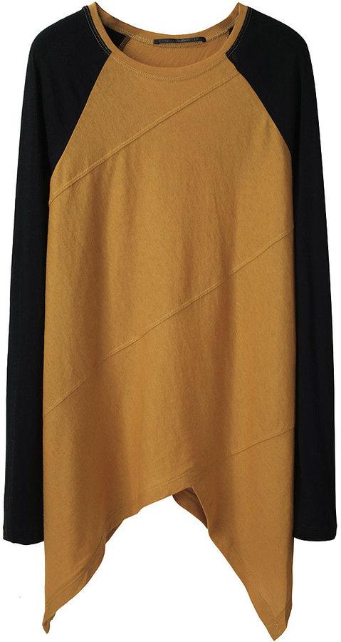 Proenza Schouler Long Sleeved Spiral T-Shirt
