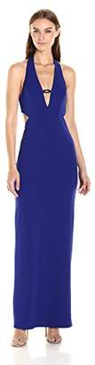 ABS by Allen Schwartz A B S BY ALLEN SCHWARTZ Women's Gown with Plunging Neckline