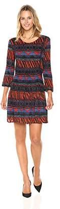 Desigual Women's Dudeleis Woman Knitted 3/4 Sleeve Dress
