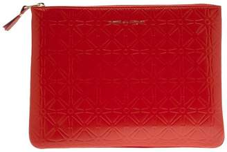 Comme des Garcons star embossed zip wallet