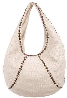 Bottega Veneta Leather Pekary Cervo Hobo