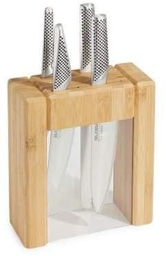 Global Five-Piece Knife Block Set