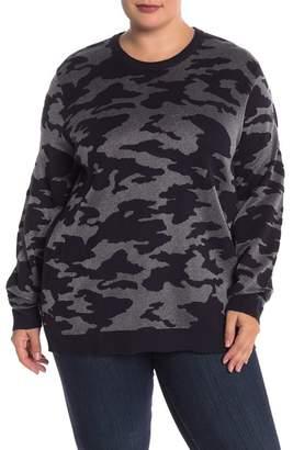 Joe Fresh Camo Jacquard Sweater