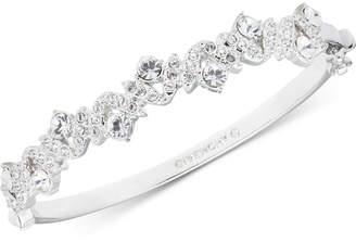 Givenchy Crystal Hinged Bangle Bracelet