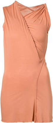 Rick Owens Lilies ruched wrap top
