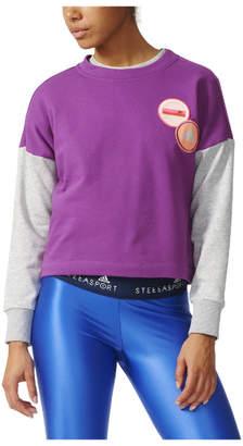 adidas Women's Stella Sport Spacer Training Crew Sweatshirt