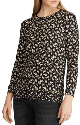 Ralph Lauren Floral-Print Sweater