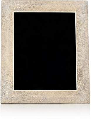 """R & Y Augousti Shagreen-Covered Wood 8"""" x 10"""" Picture Frame"""