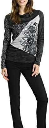 Smash Wear Snowflake Pattern Sweater