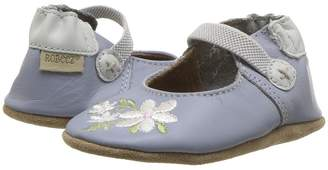 Robeez Pretty in Blue Soft Sole Girl's Shoes