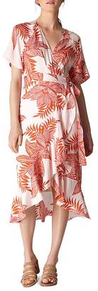 Whistles Palmyra Printed Wrap Dress