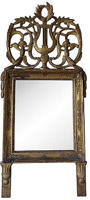 One Kings Lane Vintage 19th C. Italian Gilt Wood Mirror