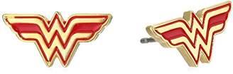 DC Comics Wonder Woman Stainless Steel Stud Earrings