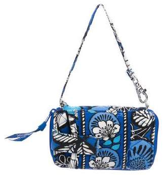 Vera Bradley Floral Zip-Around Wristlet