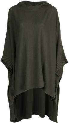 Rosetta Getty hooded poncho