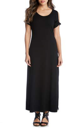 Karen Kane Alana Cold Shoulder Midi Dress