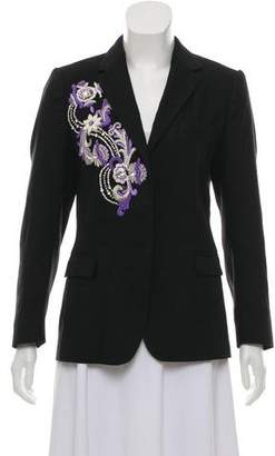 Dries Van Noten Wool-Blend Blazer