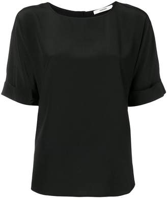 Odeeh curved hem T-shirt