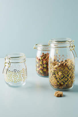 Anthropologie Royale Dog Treat Canister