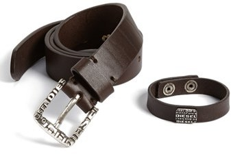 Diesel 'Bronti' Leather Belt
