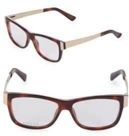 Gucci 53MM Square Optical Glasses
