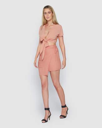 Dhalia Mini Wrap Skirt