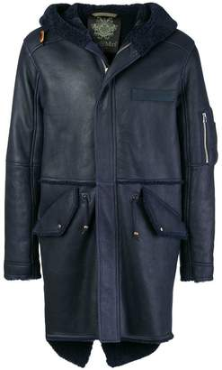Mr & Mrs Italy shearling-lined leather coat