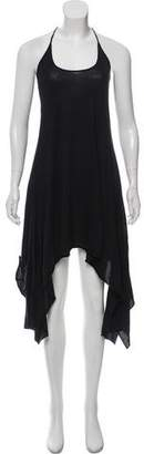 Enza Costa Asymmetrical Sleeveless Dress
