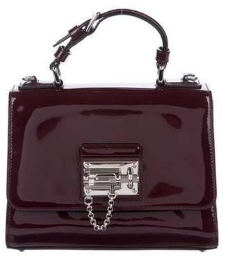 Dolce & Gabbana Patent Monica Satchel