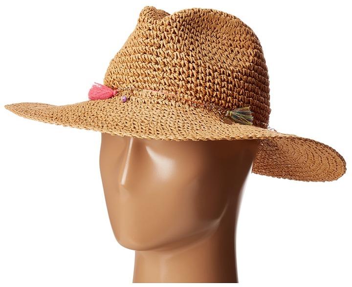 Echo Design - Jewelry Tassel Panama Beach Hat Caps