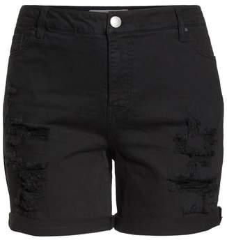 Tinsel Ripped Bermuda Shorts