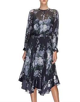 Lover Peony Ggt Midi Dress