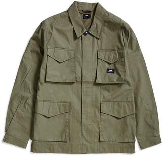 Edwin Corporal Poly Cotton Coated Jacket Green