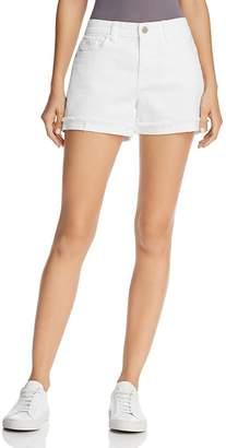 Blank NYC BLANKNYC Cuffed Denim Shorts in Greate White