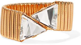 Kenneth Jay Lane Gold-plated Crystal Bracelet