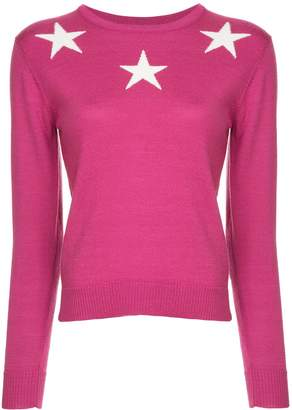 GUILD PRIME star print sweater