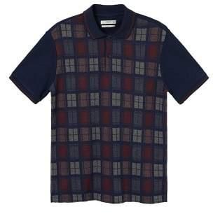 Mango Man MANGO MAN Checked design polo shirt
