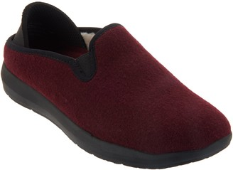 Earth Wool Slip-On Clogs with Neoprene Heel - Guru