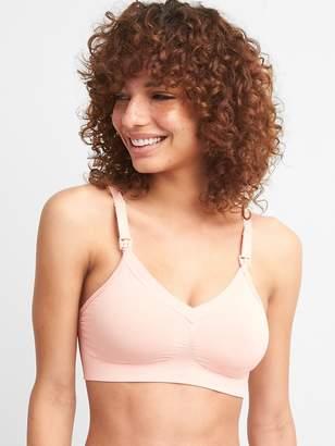 Gap Ingrid and Isabel® seamless drop cup pullover nursing bra
