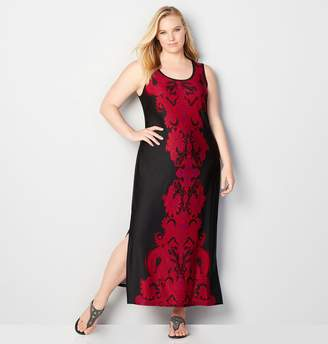 Avenue Damask Maxi Dress